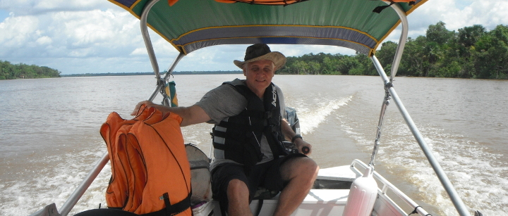 Sailing The Amazon